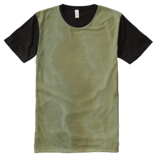 Green Onyx Stone Pattern Background All-Over-Print T-Shirt