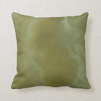 Green Onyx Stone Pattern Background Pillow