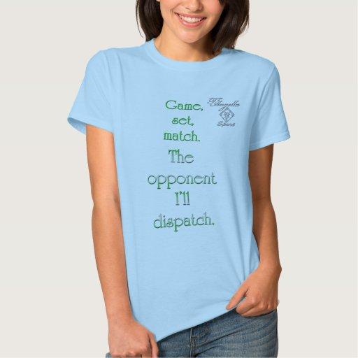 green opponent dispatch Tennis ComfortSoft T-Shirt