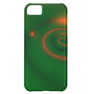 Green & Orange Abstract iPhone 5C Cover