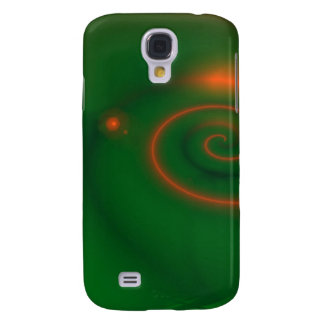 Green & Orange Abstract Samsung S4 Case