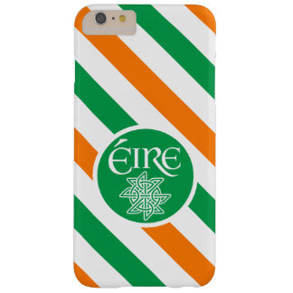 Green Orange and White Éire Ireland Barely There iPhone 6 Plus Case