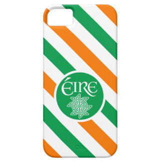 Green Orange and White Éire Ireland iPhone SE/5/5s Case