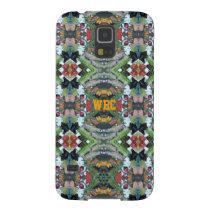 Green Orange Black Red Owl Eyes Pattern Samsung S5 Galaxy S5 Case