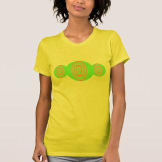 green orange circles T-Shirt