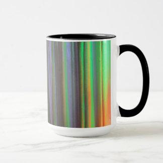 Green Orange LED Wash Lighting Mug