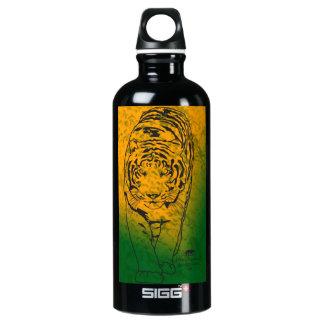 Green/Orange Lilly Water Bottle