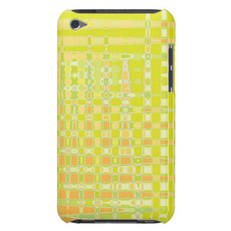 Green, orange, yellow design, iPod hard shell case