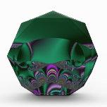 Green Orb Acrylic Award