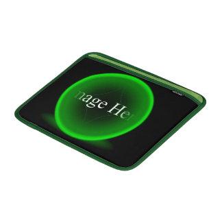 """Green Orb Macbook Air 13"""" Horizontal Sleeve MacBook Air Sleeves"""