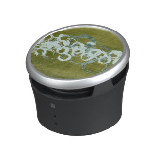 Green Orbs I Bluetooth Speaker