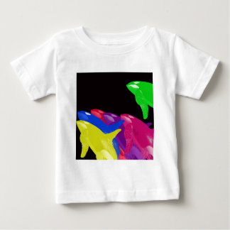 Green Orca Whale Is Heads Above The Crowd Infant T-shirt