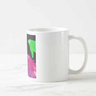 Green Orca Whale Is Heads Above The Crowd Classic White Coffee Mug