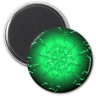 Green Ornament Magnet