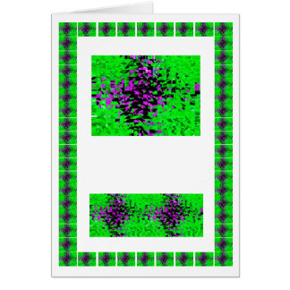Green over Pond Rare Graphics  -  add text img Greeting Card