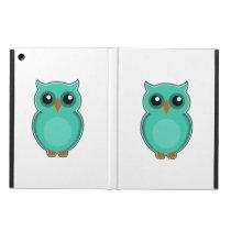 Green owl cartoon case for iPad air