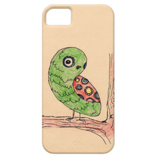 Green Owl Cover iPhone 5 Case