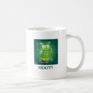 Green Owl Mug(right handle)