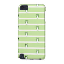 Green Owl Pattern iPod Touch (5th Generation) Cover