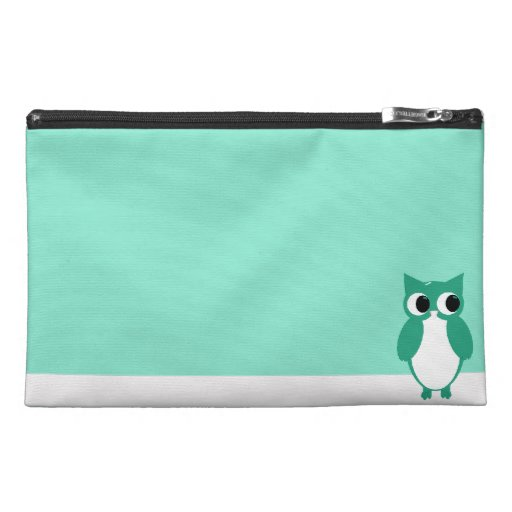 Green Owl Travel Accessories Bag