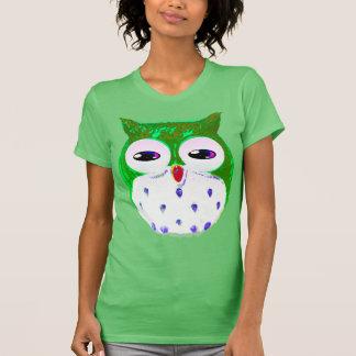 Green Owl Tees