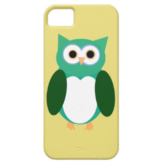 Green Owly iPhone SE/5/5s Case