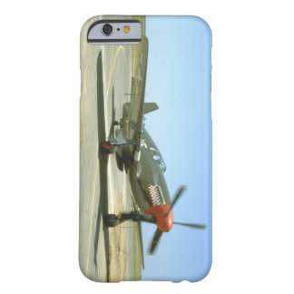 Green P51 Mustang Taxiing_WWII Planes Barely There iPhone 6 Case