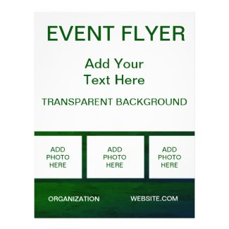 Green Pad Example Flyer