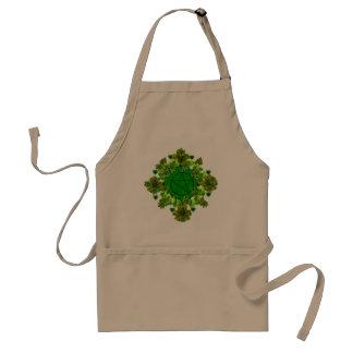 Green Pagan Adult Apron