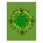 Green Pagan Postcards