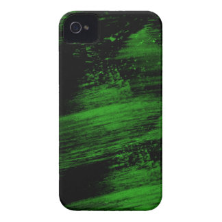 green paint iPhone 4 case