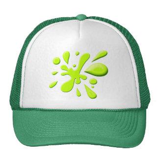 Green Paint Splodge Trucker Hat