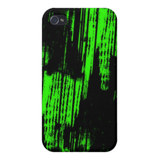 green paint trails iPhone 4/4S case