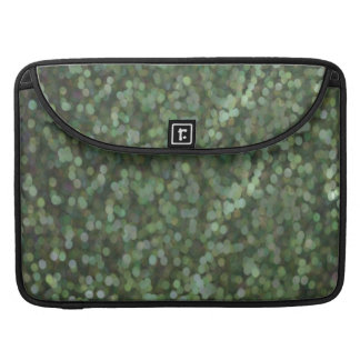 Green Painted Glitter Shimmer MacBook Pro Sleeve