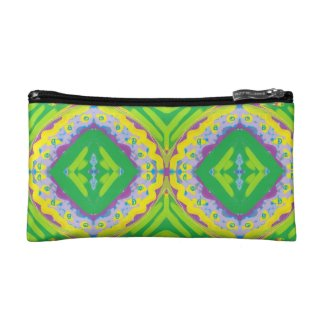 Green Painted Gypsy Medallion - Quaraun CosPlay Makeup Bag