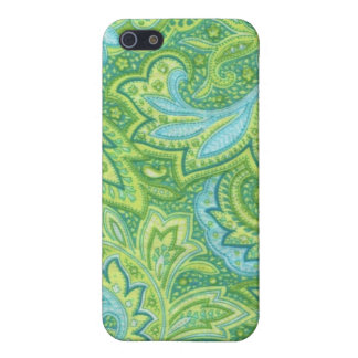 Green Paisley Case For iPhone SE/5/5s