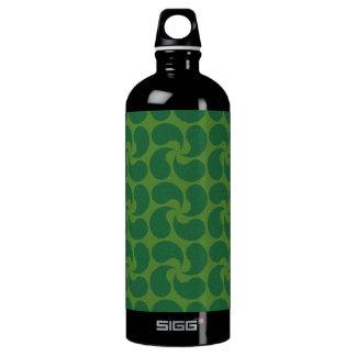 Green Paisley Design SIGG Traveler 1.0L Water Bottle