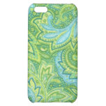 Green Paisley iPhone 5C Cover