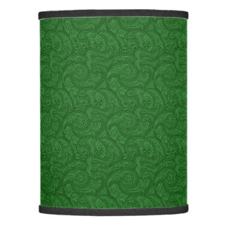 Paisley pattern lamp shades zazzle green paisley lamp shade aloadofball Choice Image