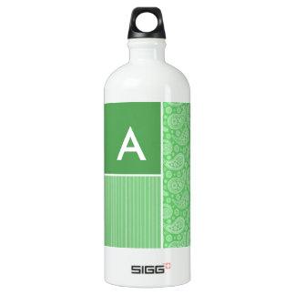 Green Paisley SIGG Traveler 1.0L Water Bottle