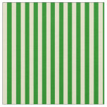 [ Thumbnail: Green & Pale Goldenrod Lines Fabric ]
