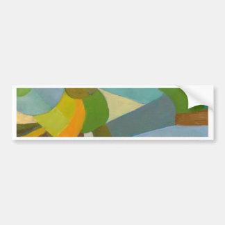 Green palette bumper sticker