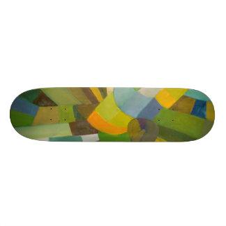 Green palette skate decks