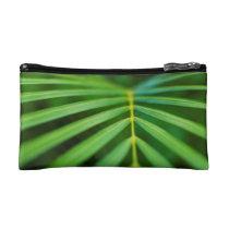 Green Palm Accessory Bag