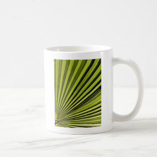 Green Palm Frond Coffee Mug