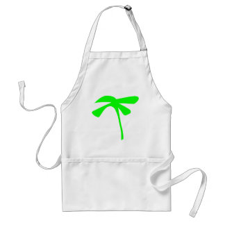 green palm icon adult apron