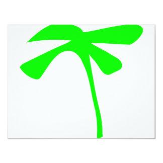 green palm icon card