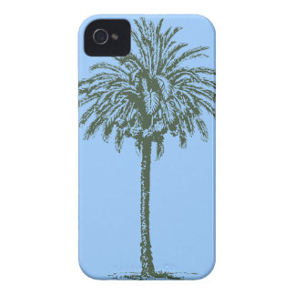 Green Palm Tree Case-Mate iPhone 4 Cases