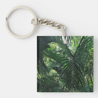 Green Palm Tree Kaychain Keychain