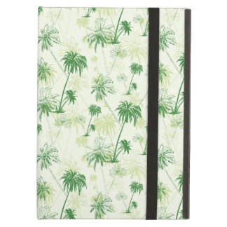 Green Palm Tree Pattern iPad Air Cover
